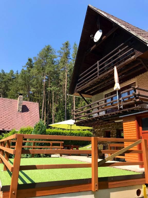 Maison de vacances Ruhiges Gebiet im Wald und nah zum See, Kovářov, Pisek Südböhmen République tchèque