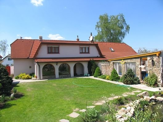 dom letniskowy Bechyne mit Innenpool und Sauna TR, Bechyne, Tabor Südböhmen Czechy
