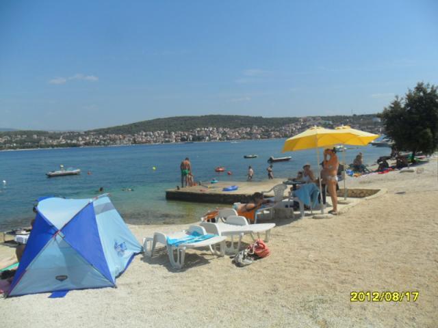 Ferienwohnung Apartman A in Okrug Gornji, Insel Ciovo Mitteldalmatien Kroatien