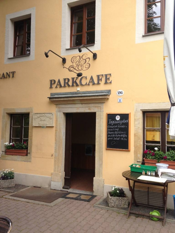 Parkcafe Pillnitz unweit des Apartments