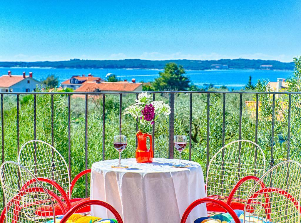 Appartement en location N.24 ( 4+0 ) schönem Meerblick, Fazana, Fazana Istrien Südküste Kroatie