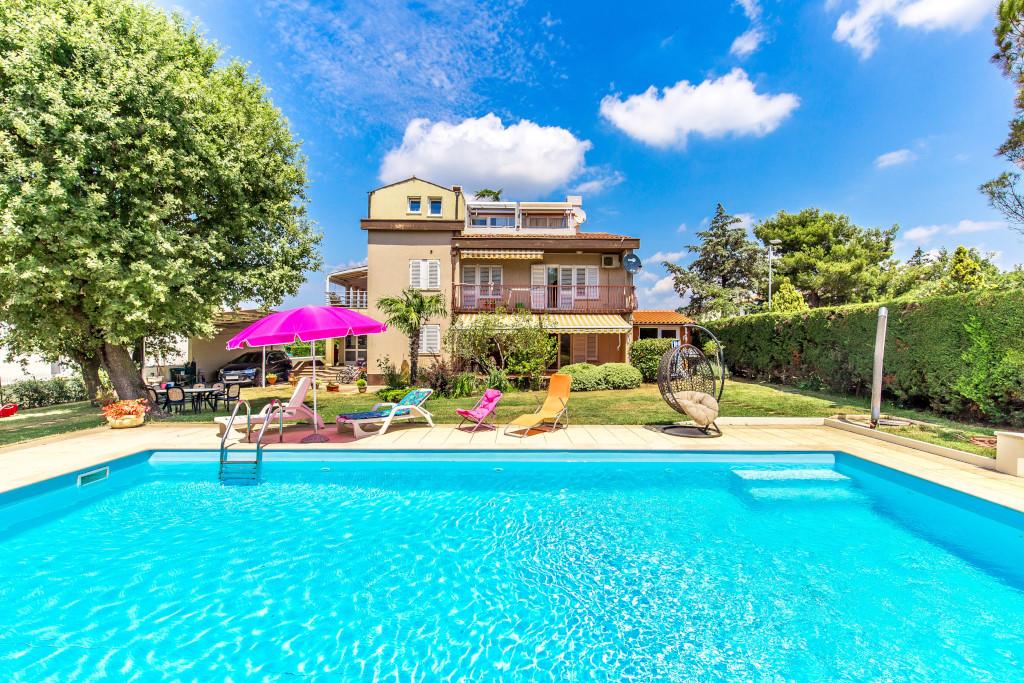 """Appartement en location Schönes familienhaus """"Silva"""". 350 m vom Zentrum von Peroj, 2 km vom Zentrum von Fažana, so, Peroj, Fazana Istrien Südküste Kroatie"""