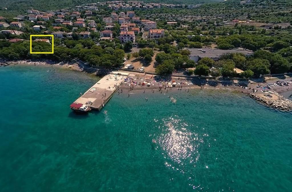 prázdninový  byt Beach House Apartment (4+2), Klenovica, Novi Vinodolski Kvarner Bucht Festland Chorvátsko