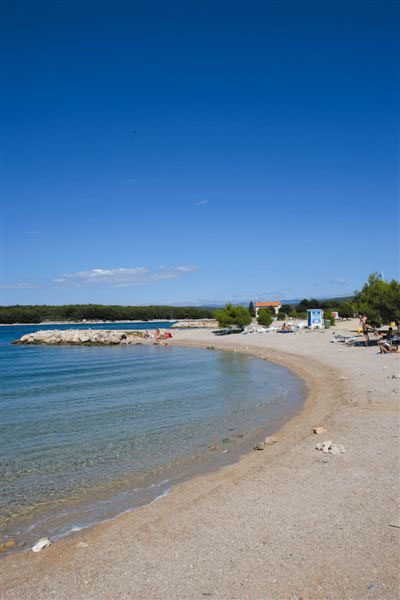 Strand in Punat