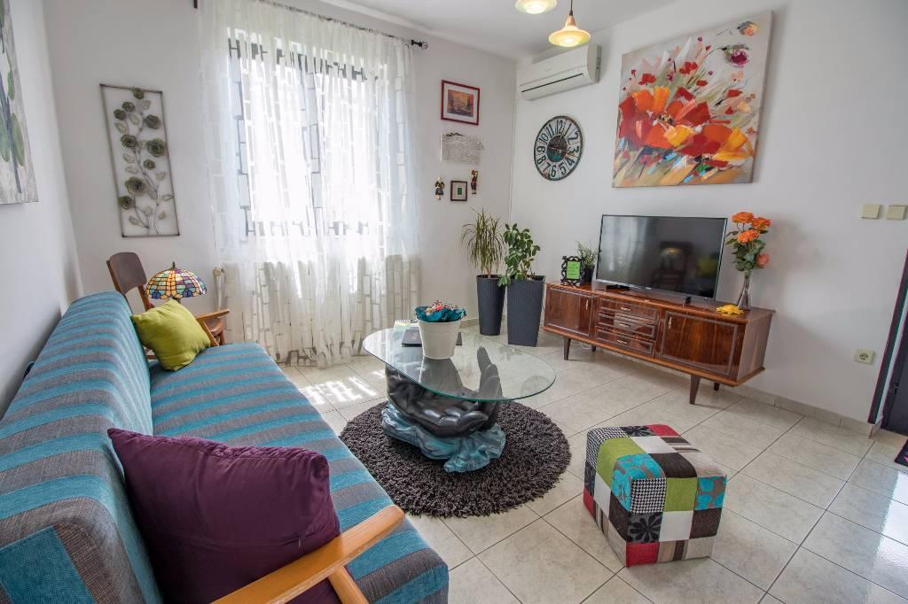 Apartmán Das Haus liegt in der ruhige Lage, etwa 3-4 Minuten zu Fuss vom Zentrum und Strand entfernt., Baska, Insel Krk Kvarner Bucht Inseln Chorvatsko