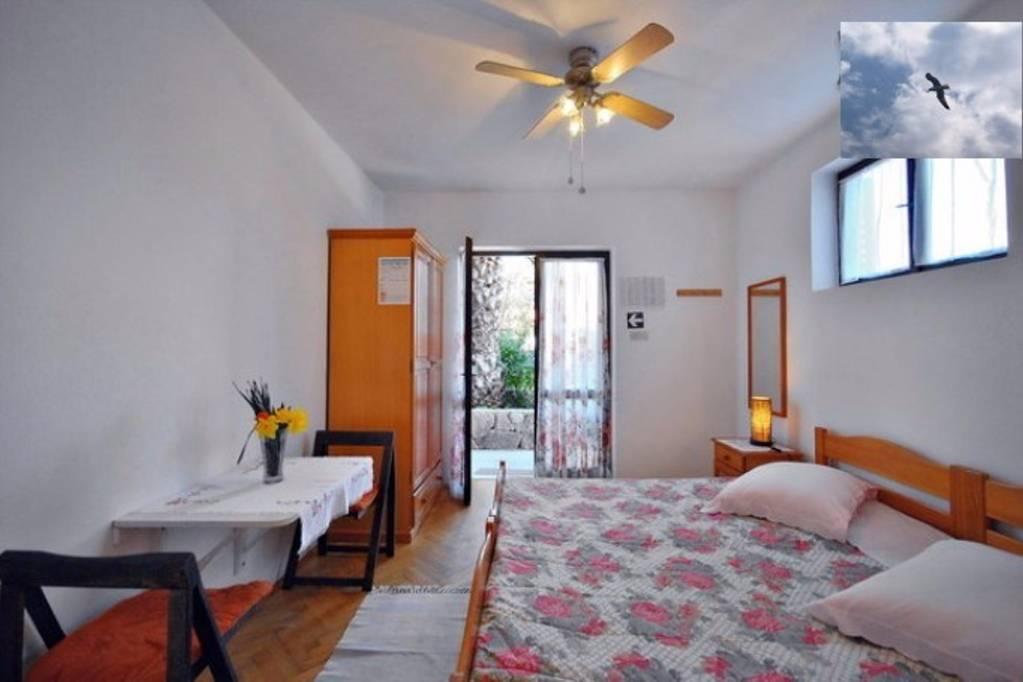 Apartmán Nähe von Meer App1 (2+1Personen), Jelsa, Insel Hvar Mitteldalmatien Chorvatsko