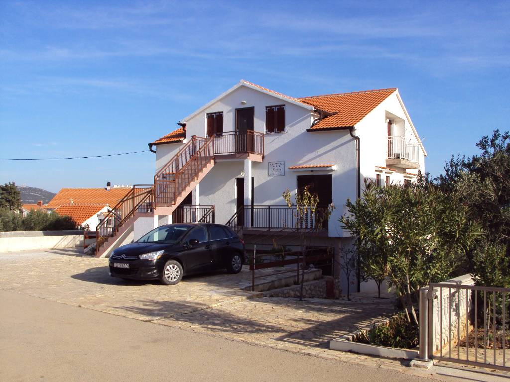 Appartement en location A3 - Studio-Apartments  (2 + 1), 33m2 + Balkon 4m2, Jezera, Insel Murter Mitteldalmatien Kroatie