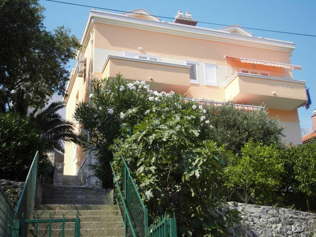 Appartement en location Die Wohnung mit zwei Schlafzimmern mit Doppelbetten und ein zusätzliches Bett im Wohnzimmer., Makarska, Makarska Riviera Mitteldalmatien Kroatie
