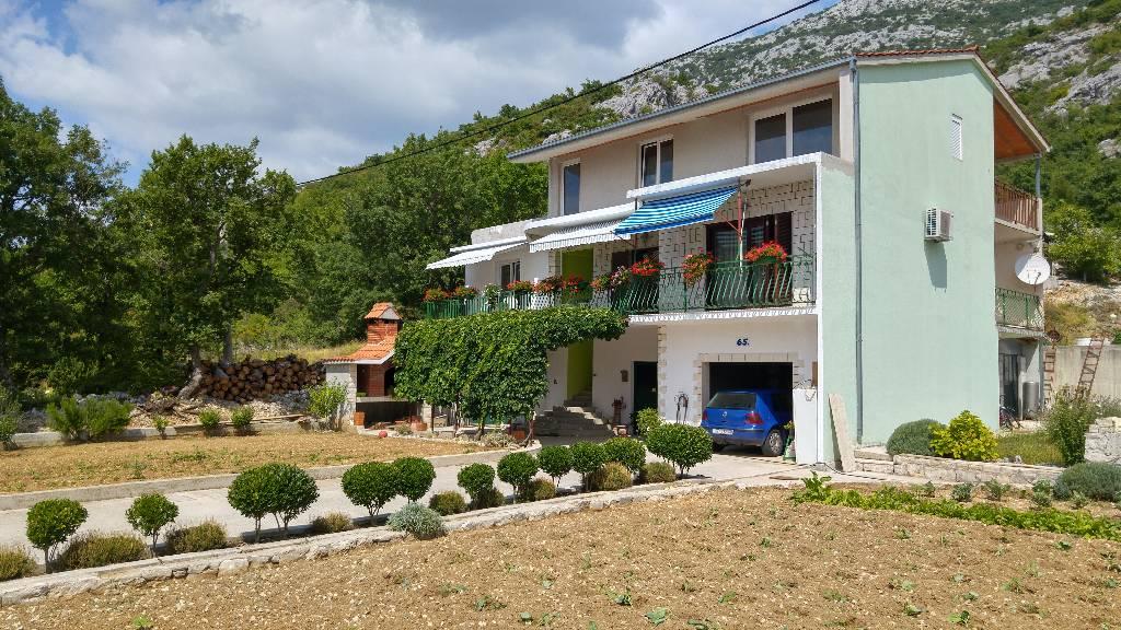 Appartement en location Relax-Familienhaus Jure mit Pool und Grill, Dubrava, Split Mitteldalmatien Kroatie