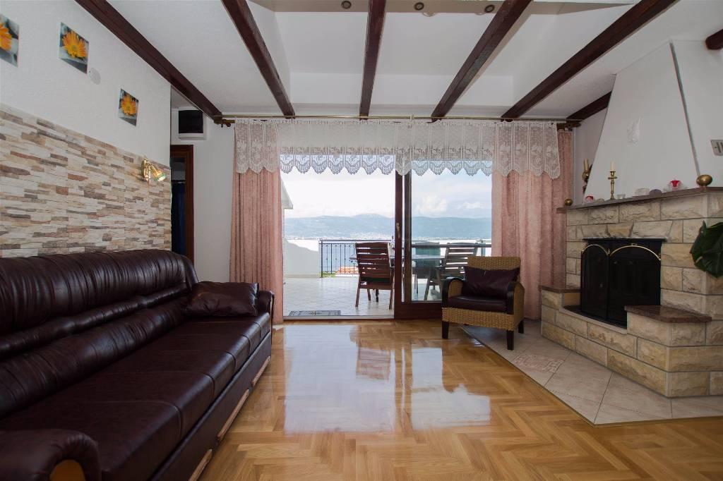 mieszkanie letniskowe Mit Blick auf das Meer E6 Person in  Hause Marina, Slatine, Trogir Mitteldalmatien Chorwacja