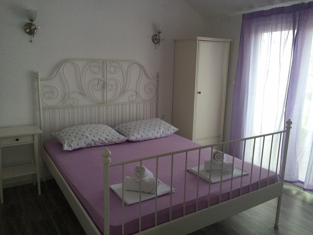 Atostogoms nuomojami butai Romantische, gemütliche Wohnung mit einem schönen Panoramablick auf das Meer und die Stadt., Pag, Insel Pag Norddalmatien Kroatija
