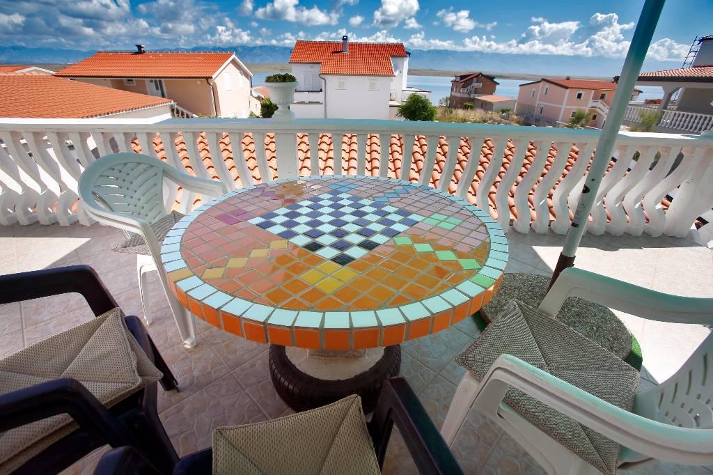 Appartement en location Diese Einheit ist ideal für eine größere Familie, die Ruhe mit einem perfekten Blick auf das Meer un, Vir, Insel Vir Norddalmatien Kroatie