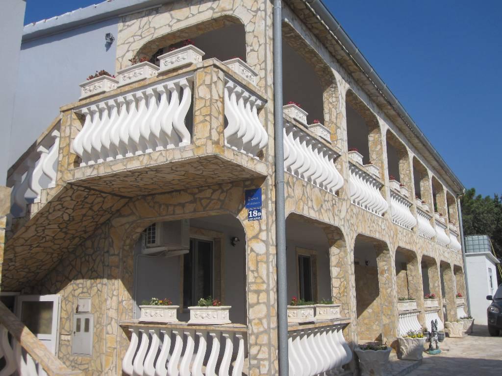 Appartement en location Apartment mit Meerblick für 6 Personen, VIR, Insel Vir Norddalmatien Kroatie