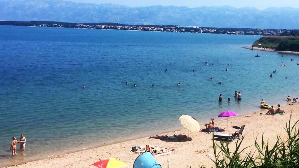 Atostogoms nuomojami butai 5 Apartments mit extra Zimmer. Bis zu 7 Personen/Apartment., Nin, Zadar Norddalmatien Kroatija