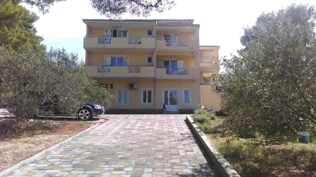 Apartmán A2+3 - Für zwei Personen plus drei Zustellbette, Wohnfläche: 60m2;, Drage, Pakostane Norddalmatien Chorvatsko
