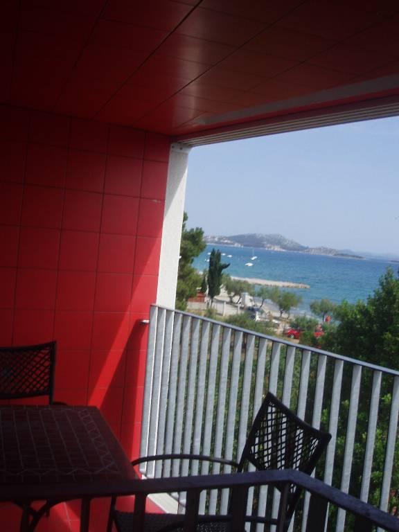 mieszkanie letniskowe Zwei Schlafzimmer Penthouse-Wohnung an zwei Etagen hat zwei Terrasse mit Meer/Strand  Blick., Pakoštane, Pakostane Norddalmatien Chorwacja
