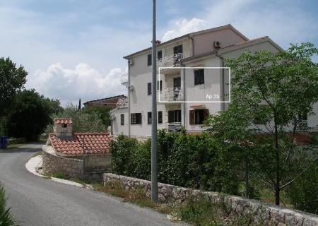 Atostogoms nuomojami butai apartman, 41 m2, istočna strana, pogled na more i planinu, 2+2, Paklenica, Starigrad Norddalmatien Kroatija