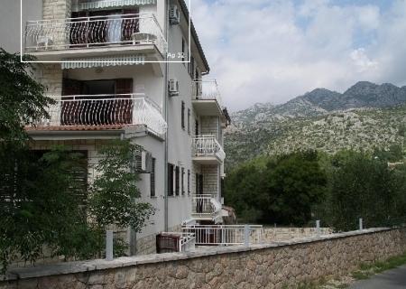 Atostogoms nuomojami butai Apartment mit Blick auf das Meer und die Berge, Seline, Starigrad Norddalmatien Kroatija