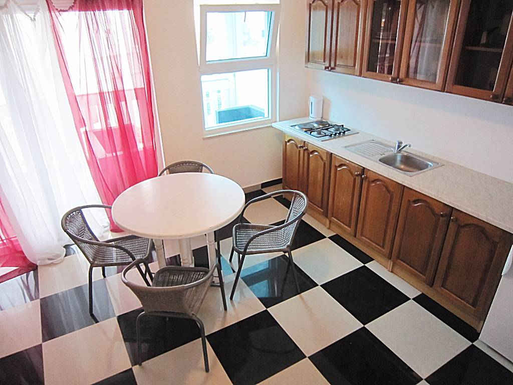 Atostogoms nuomojami butai Apartman A4+2, Vodice, Vodice Norddalmatien Kroatija