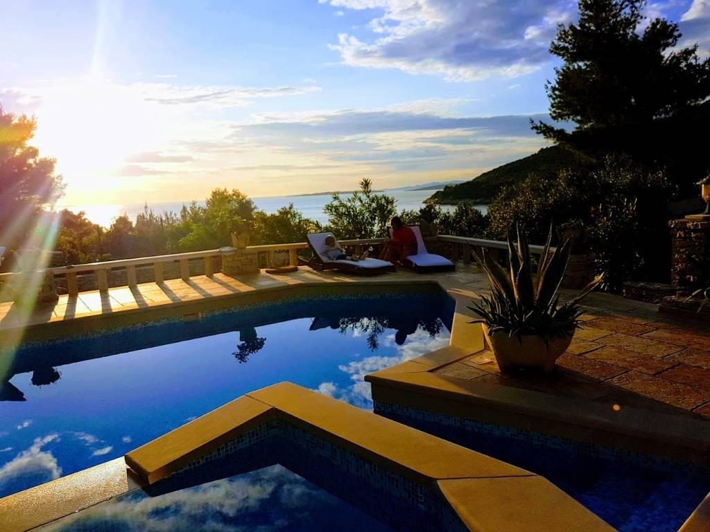 """dom letniskowy Steinhaus Villa Poplat Apartman 2 """"Romantic"""" - romantischer Ort für Ferien, Vela luka, Insel Korcula Süddalmatien Chorwacja"""