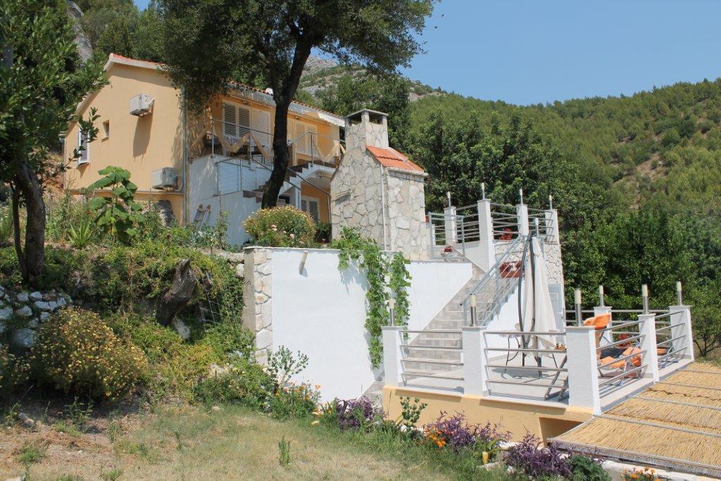 Apartmán 1 Schlafzimmer, Wohnzimmer mit Bet und Badezimmer, Viganj, Peljesac Süddalmatien Chorvatsko
