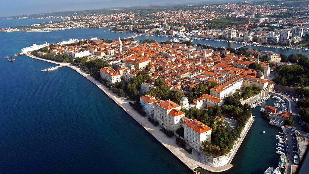 Atostogoms nuomojami butai Apartmani Irina, Rovanjska, Zadar Norddalmatien Kroatija