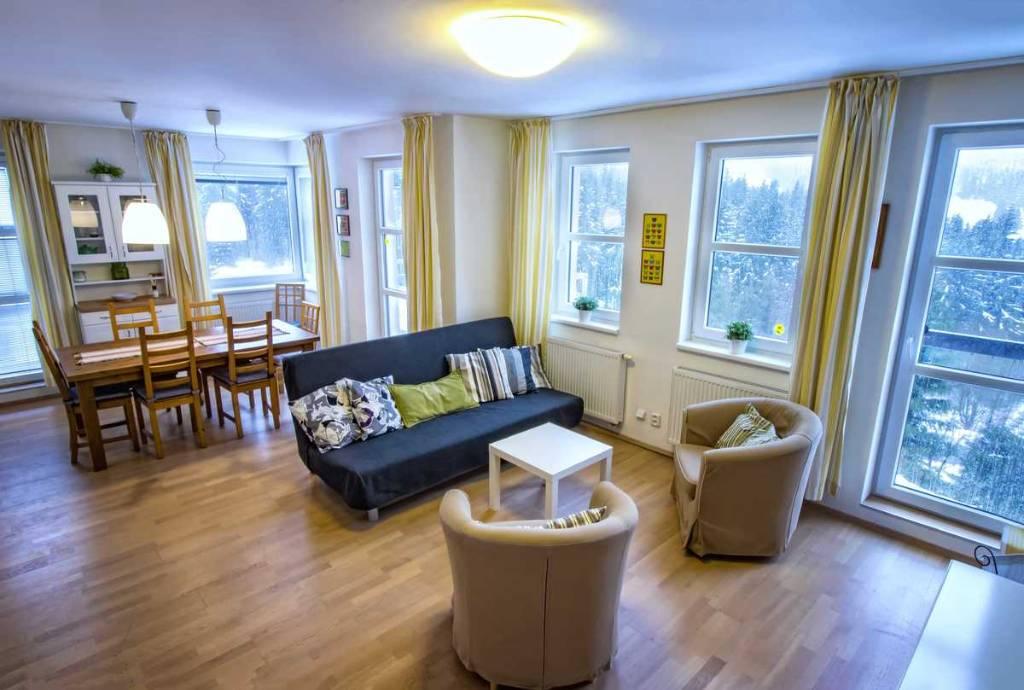 Appartement en location Apparthotel Klinovec mit Ferienwohnungen, Loucna pod Klinovcem, Erzgebirge Erzgebirge République tchèque