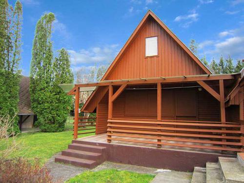 Apartmán BE-41: Holzhaus für 4 Personen in Balatonberény nur 150 m vom Strand, Balatonberény, Balaton-Südufer Plattensee-Balaton Maďarsko