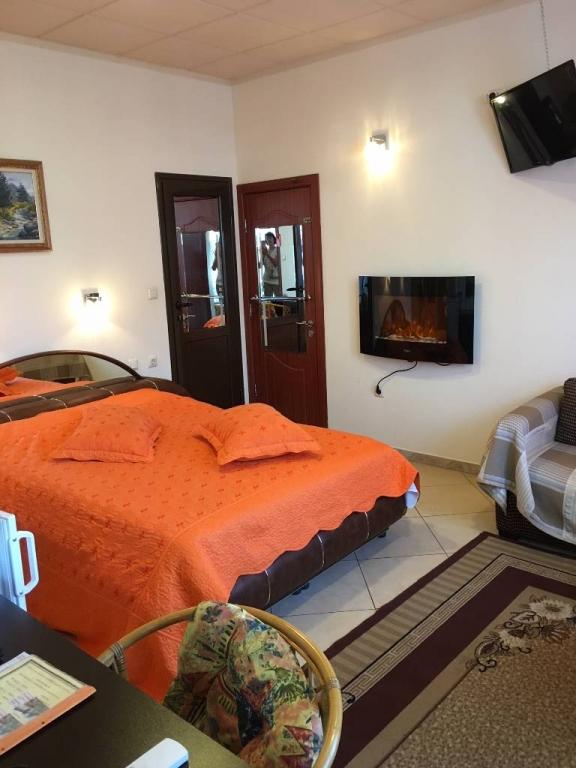 Chambre d`hôte Das Ferienhaus Elisabet liegt in Stadtzentrum von Samokow. In 8 km. entfernt von die Shipisten, Samokow, Samokow Sofia Region Bulgarie
