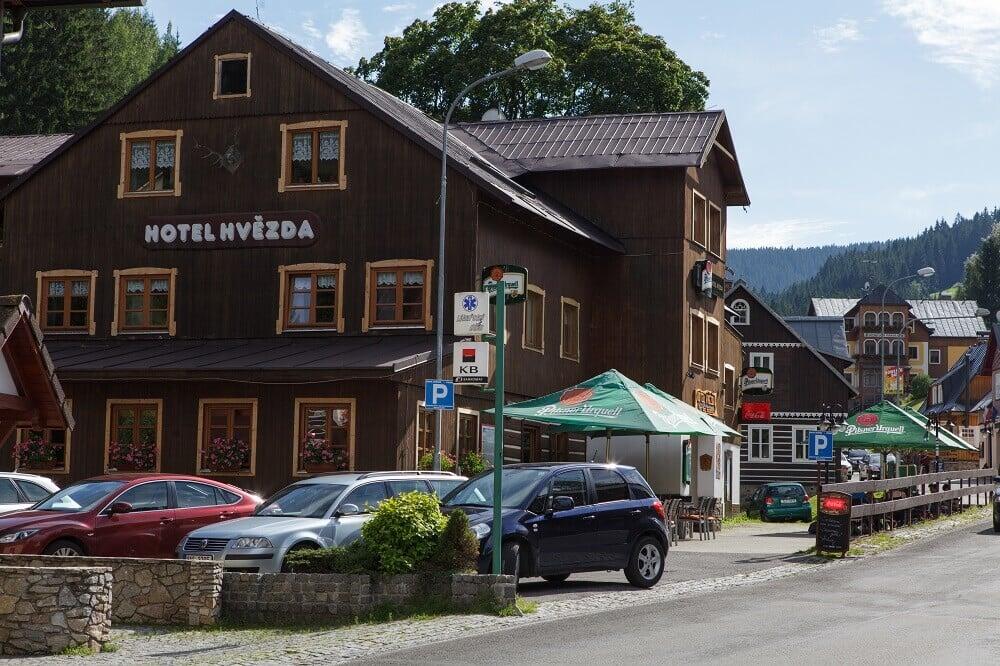 hotel im Herzen Skigebiet Pec pod Snezkou, Pec pod Snezkou, Riesengebirge Riesengebirge Česko