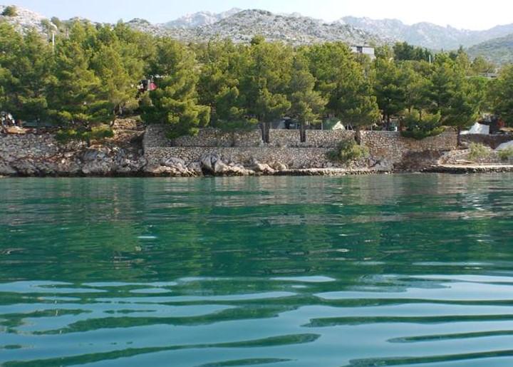 Mobilus namas Direkt am Meer, Natur Ambiente, Ruhe,  Strand fuer Kinder geeignet, Starigrad Paklenica, Adriatisches Meer Istrien Nordküste Kroatija