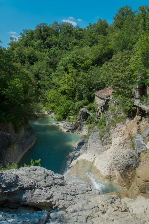 Atostogoms nuomojami namai  Ferienwohnung Stone House Kotli, Kotli, Buzet Istrien Zentral Kroatija