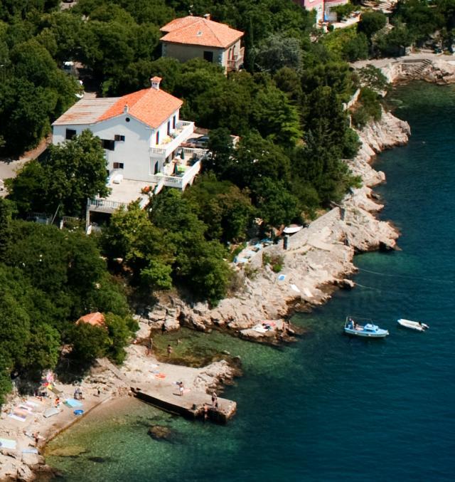 pensjonat Direkt am Meer Boots-LP + freie Sicht übers Meer auf die Insel KRK/Sv.Marko/CRES, in die bis ISTRIEN, Kraljevica-OSTRO, Insel Krk Kvarner Bucht Inseln Chorwacja