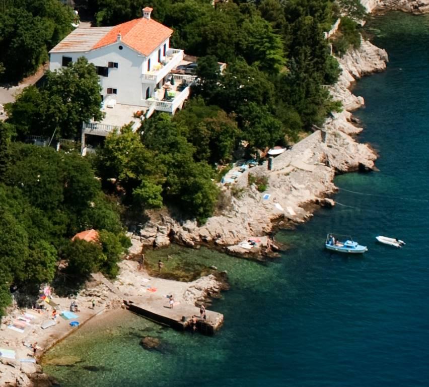Pensionas Direkt am Meer Boots-LP + freie Sicht auf die Insel KRK/Sv.Marko/CRES, OPATIJA, LOVRAN bis ISTRIEN, Kraljevica-OSTRO, Insel Krk Kvarner Bucht Inseln Kroatija