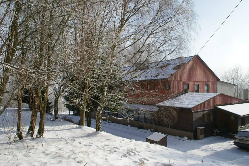 Pensionas Marianska mit Badefass für etwa 43 Personen, Jachymov, Erzgebirge Erzgebirge Čekija
