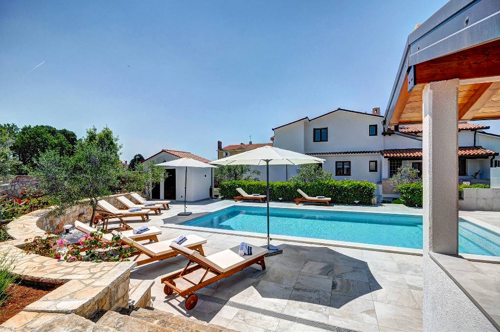 Villa Sonja nur 400 m vom Strand, Fazana, Fazana Istrien Südküste Kroatie