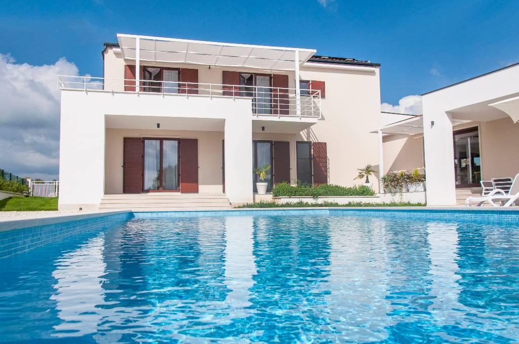 willa New comfortable villa in quite area with large private swimming pool, , Štokovci, Svetvinčenat, Rovinj Istrien Südküste Chorwacja