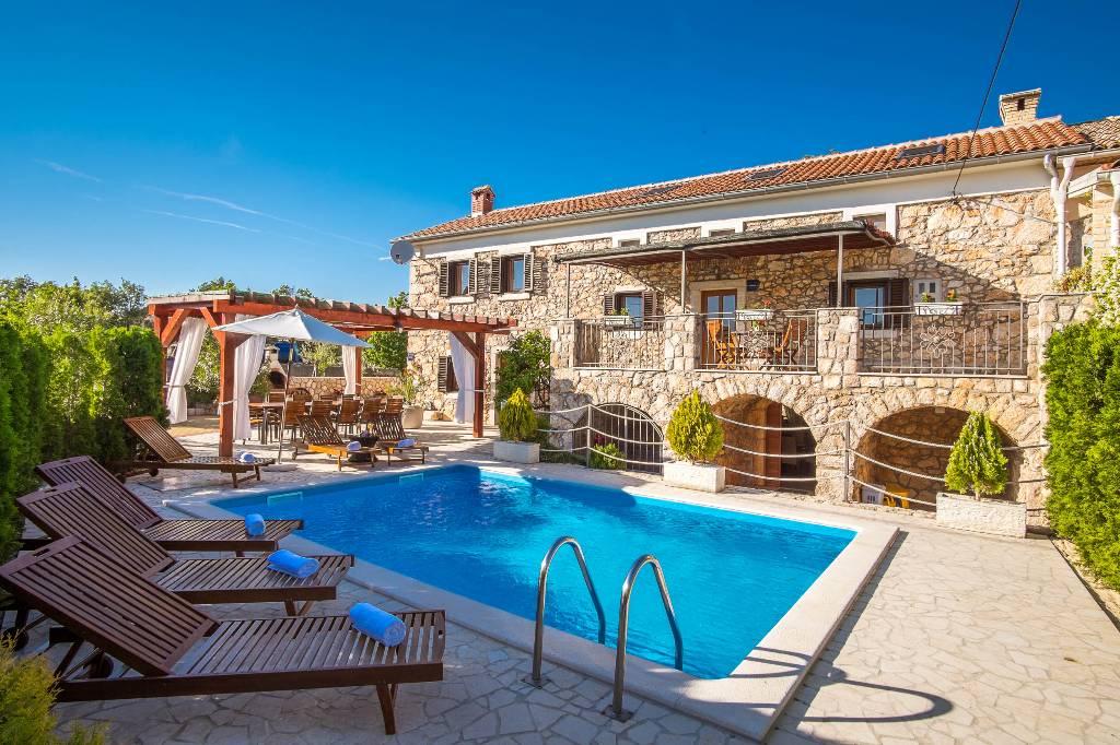 Hotel Villa Direkt Am Meer Kroatien Cikvenica Pool