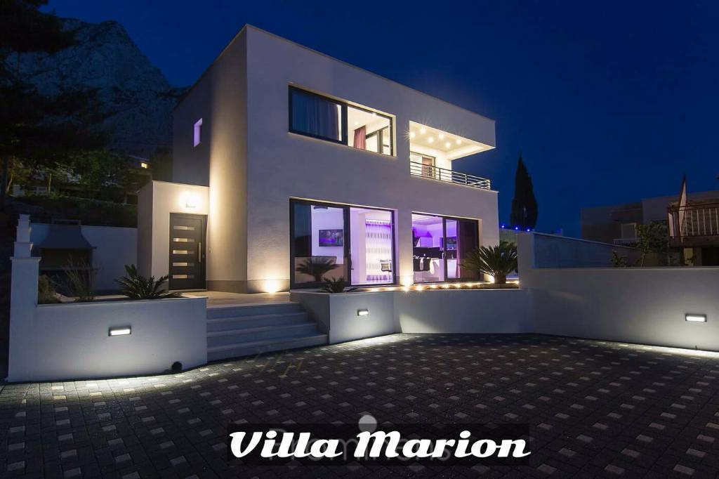 Villa   Villa Marion **** pool heizeung,sea  view, Baska Voda-Bast, Makarska Riviera Mitteldalmatien Kroatie