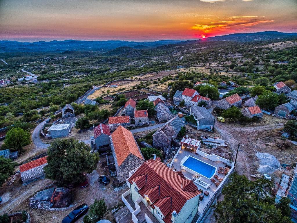 willa VILLA HERITAGE MIT POOL, Unesic, Sibenik Norddalmatien Chorwacja