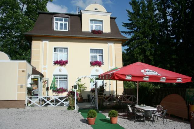 Villa Meteor, Marianske Lazne, Marienbad Westböhmische Kurorte République tchèque
