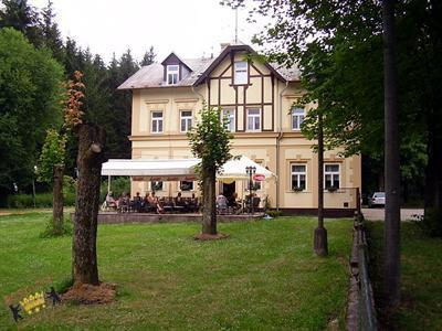 Villa Berolina, Marianske Lazne, Marienbad Westböhmische Kurorte République tchèque
