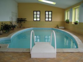 ferienhaus in leletice pisek mit pool hund erlaubt. Black Bedroom Furniture Sets. Home Design Ideas
